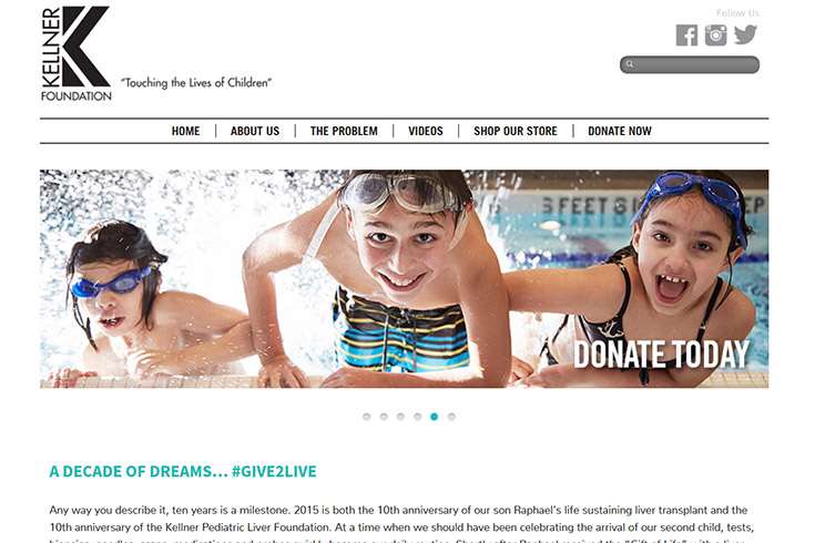 Kellner Pediatric Liver Foundation JonasWeb Case Study